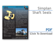 Simplan Shaft Seals Flier